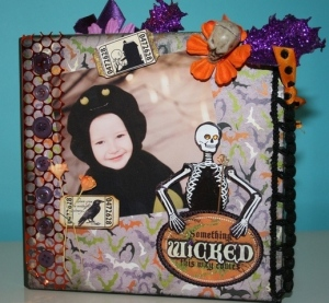 something wicked scrapbook