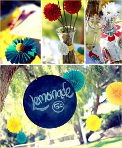 spring party lemonade